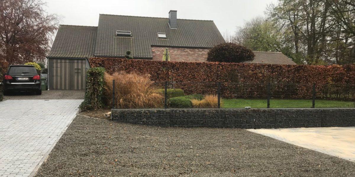 Terrac terrassement aménagement extérieur démolition professionnel construction particulier Jalhay Spa Liège Verviers Tiège Sart Belgique Ansay Manguette